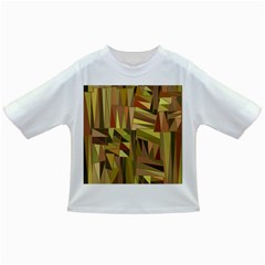 Earth Tones Geometric Shapes Unique Infant/toddler T Shirts by Simbadda