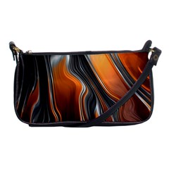 Fractal Structure Mathematics Shoulder Clutch Bags by Simbadda