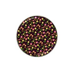 Flowers Roses Floral Flowery Hat Clip Ball Marker by Simbadda
