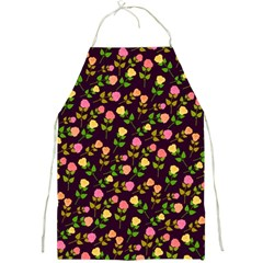 Flowers Roses Floral Flowery Full Print Aprons