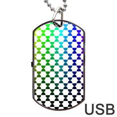 Half Circle Dog Tag Usb Flash (one Side) by Simbadda