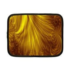 Flower Gold Hair Netbook Case (small)  by Alisyart