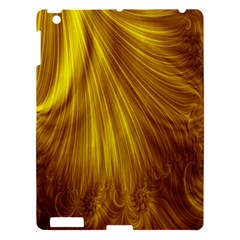 Flower Gold Hair Apple Ipad 3/4 Hardshell Case by Alisyart