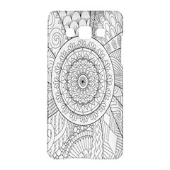 Flower Rose Flowering Sunflower Black Samsung Galaxy A5 Hardshell Case  by Alisyart