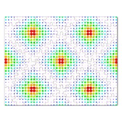 Color Square Rectangular Jigsaw Puzzl by Simbadda