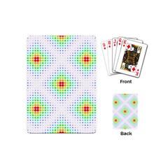 Color Square Playing Cards (mini)  by Simbadda