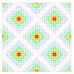 Color Square Large Satin Scarf (square) by Simbadda