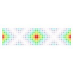 Color Square Satin Scarf (oblong) by Simbadda
