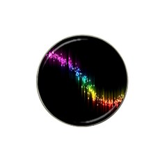 Illustrations Black Colorful Line Purple Yellow Pink Hat Clip Ball Marker (4 Pack) by Alisyart