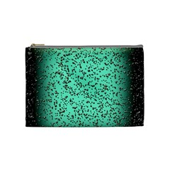 Grunge Rain Frame Cosmetic Bag (medium)  by Simbadda