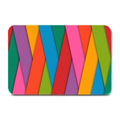 Colorful Lines Pattern Plate Mats by Simbadda