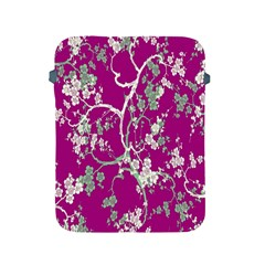 Floral Pattern Background Apple Ipad 2/3/4 Protective Soft Cases by Simbadda