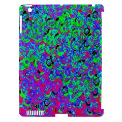 Green Purple Pink Background Apple Ipad 3/4 Hardshell Case (compatible With Smart Cover) by Simbadda
