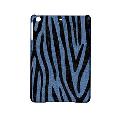 Skin4 Black Marble & Blue Denim Apple Ipad Mini 2 Hardshell Case by trendistuff