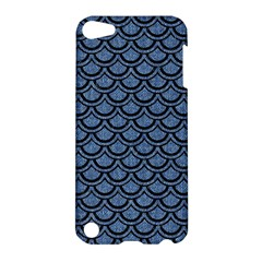 Scales2 Black Marble & Blue Denim (r) Apple Ipod Touch 5 Hardshell Case by trendistuff