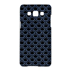 Scales2 Black Marble & Blue Denim Samsung Galaxy A5 Hardshell Case  by trendistuff