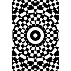 Checkered Black White Tile Mosaic Pattern 5 5  X 8 5  Notebooks by CrypticFragmentsColors