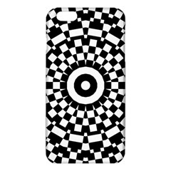 Checkered Black White Tile Mosaic Pattern Iphone 6 Plus/6s Plus Tpu Case by CrypticFragmentsColors