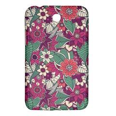 Seamless Floral Pattern Background Samsung Galaxy Tab 3 (7 ) P3200 Hardshell Case  by TastefulDesigns