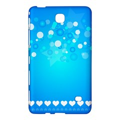 Blue Dot Star Samsung Galaxy Tab 4 (8 ) Hardshell Case  by Simbadda