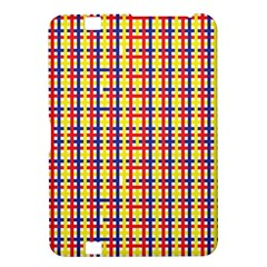 Yellow Blue Red Lines Color Pattern Kindle Fire Hd 8 9  by Simbadda