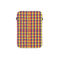 Yellow Blue Red Lines Color Pattern Apple Ipad Mini Protective Soft Cases by Simbadda