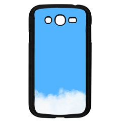 Blue Sky Clouds Day Samsung Galaxy Grand Duos I9082 Case (black) by Simbadda