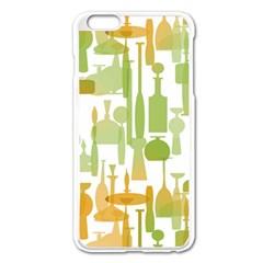 Angerine Blenko Glass Apple Iphone 6 Plus/6s Plus Enamel White Case
