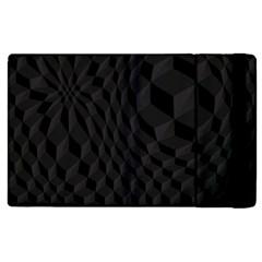 Pattern Dark Texture Background Apple Ipad 3/4 Flip Case by Simbadda