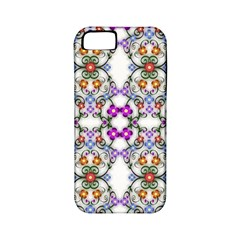 Floral Ornament Baby Girl Design Apple Iphone 5 Classic Hardshell Case (pc+silicone) by Simbadda