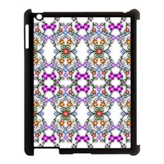 Floral Ornament Baby Girl Design Apple Ipad 3/4 Case (black) by Simbadda