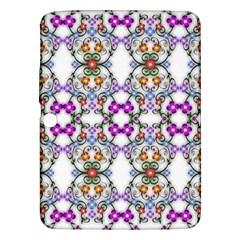 Floral Ornament Baby Girl Design Samsung Galaxy Tab 3 (10 1 ) P5200 Hardshell Case  by Simbadda