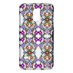 Floral Ornament Baby Girl Design Galaxy S5 Mini by Simbadda