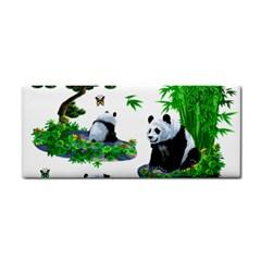 Cute Panda Cartoon Cosmetic Storage Cases by Simbadda