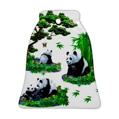 Cute Panda Cartoon Ornament (bell)