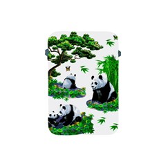 Cute Panda Cartoon Apple Ipad Mini Protective Soft Cases by Simbadda