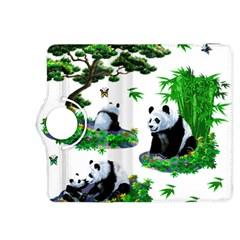Cute Panda Cartoon Kindle Fire Hdx 8 9  Flip 360 Case by Simbadda