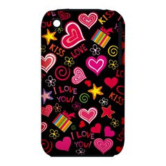 Love Hearts Sweet Vector iPhone 3S/3GS