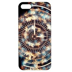 Science Fiction Background Fantasy Apple Iphone 5 Hardshell Case With Stand by Simbadda