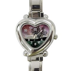 Sky Landscape Nature Clouds Heart Italian Charm Watch by Simbadda