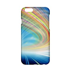 Glow Motion Lines Light Apple Iphone 6/6s Hardshell Case by Alisyart