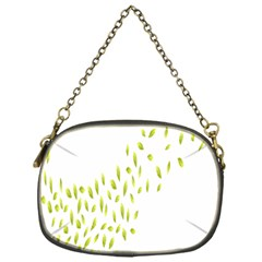 Leaves Leaf Green Fly Landing Chain Purses (one Side)  by Alisyart