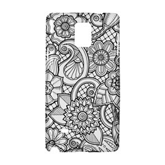 These Flowers Need Colour! Samsung Galaxy Note 4 Hardshell Case by Simbadda