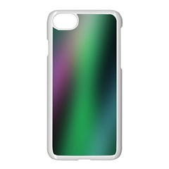 Course Gradient Color Pattern Apple iPhone 7 Seamless Case (White) by Simbadda