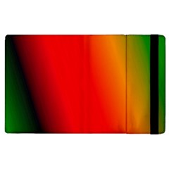 Multi Color Pattern Background Apple Ipad 3/4 Flip Case by Simbadda