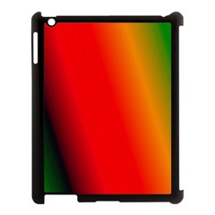 Multi Color Pattern Background Apple Ipad 3/4 Case (black) by Simbadda