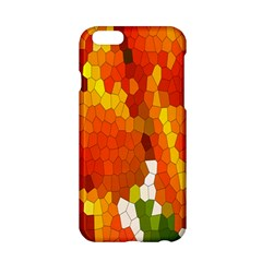 Mosaic Glass Colorful Color Apple Iphone 6/6s Hardshell Case by Simbadda