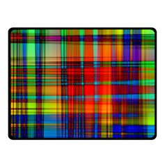 Abstract Color Background Form Fleece Blanket (small) by Simbadda