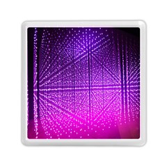 Pattern Light Color Structure Memory Card Reader (square)