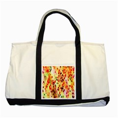 Background Color Pattern Abstract Two Tone Tote Bag by Simbadda
